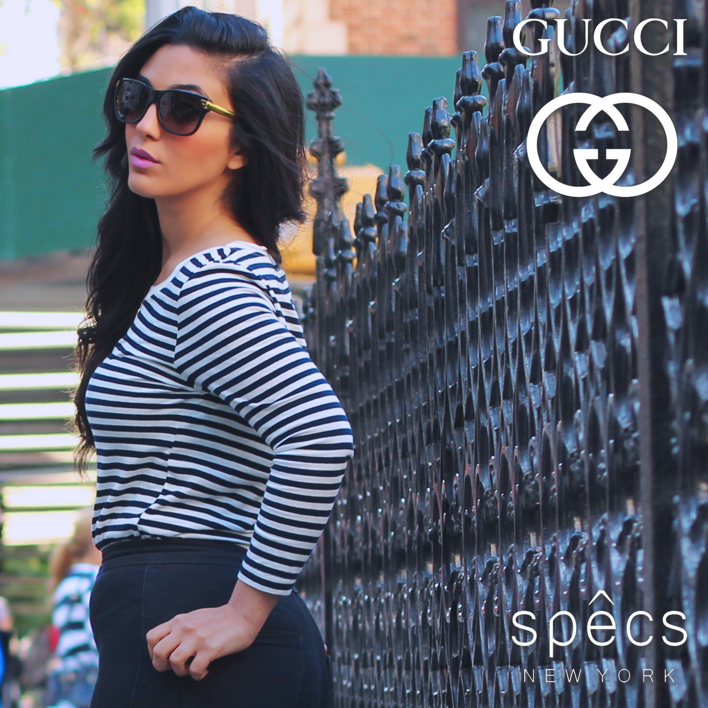 N ili Damari  for G UCCI Eyewear