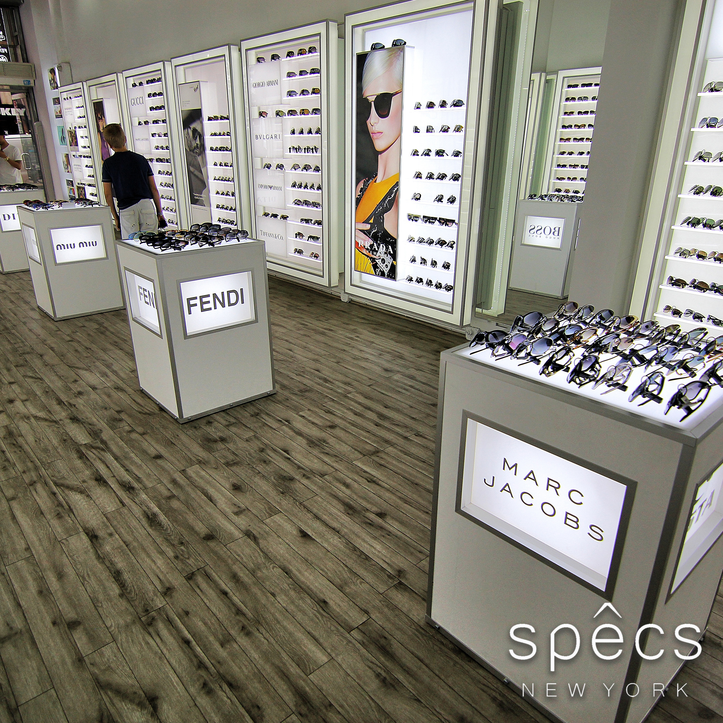 Specs New York interior