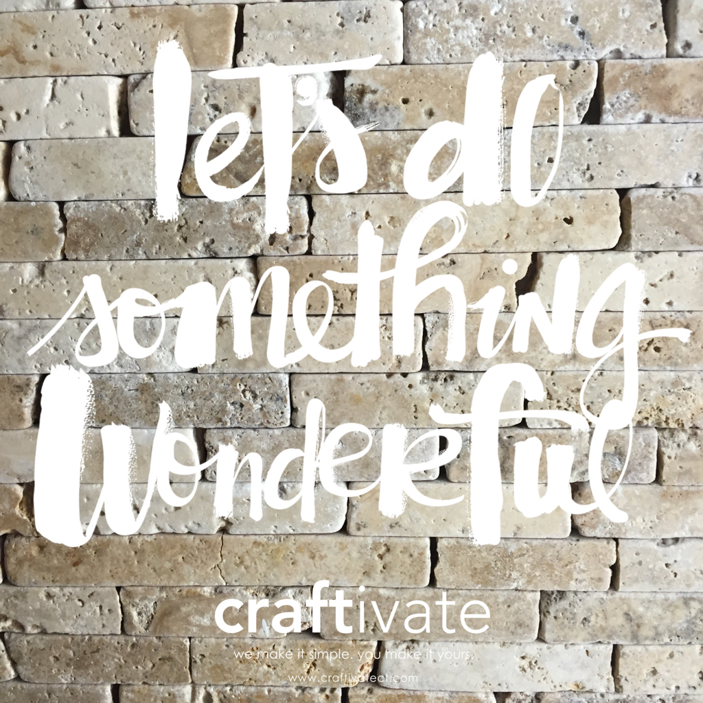 Crafty Graphics - Here at Craftivate, we love creating unique graphics for our followers and customers to enjoy.