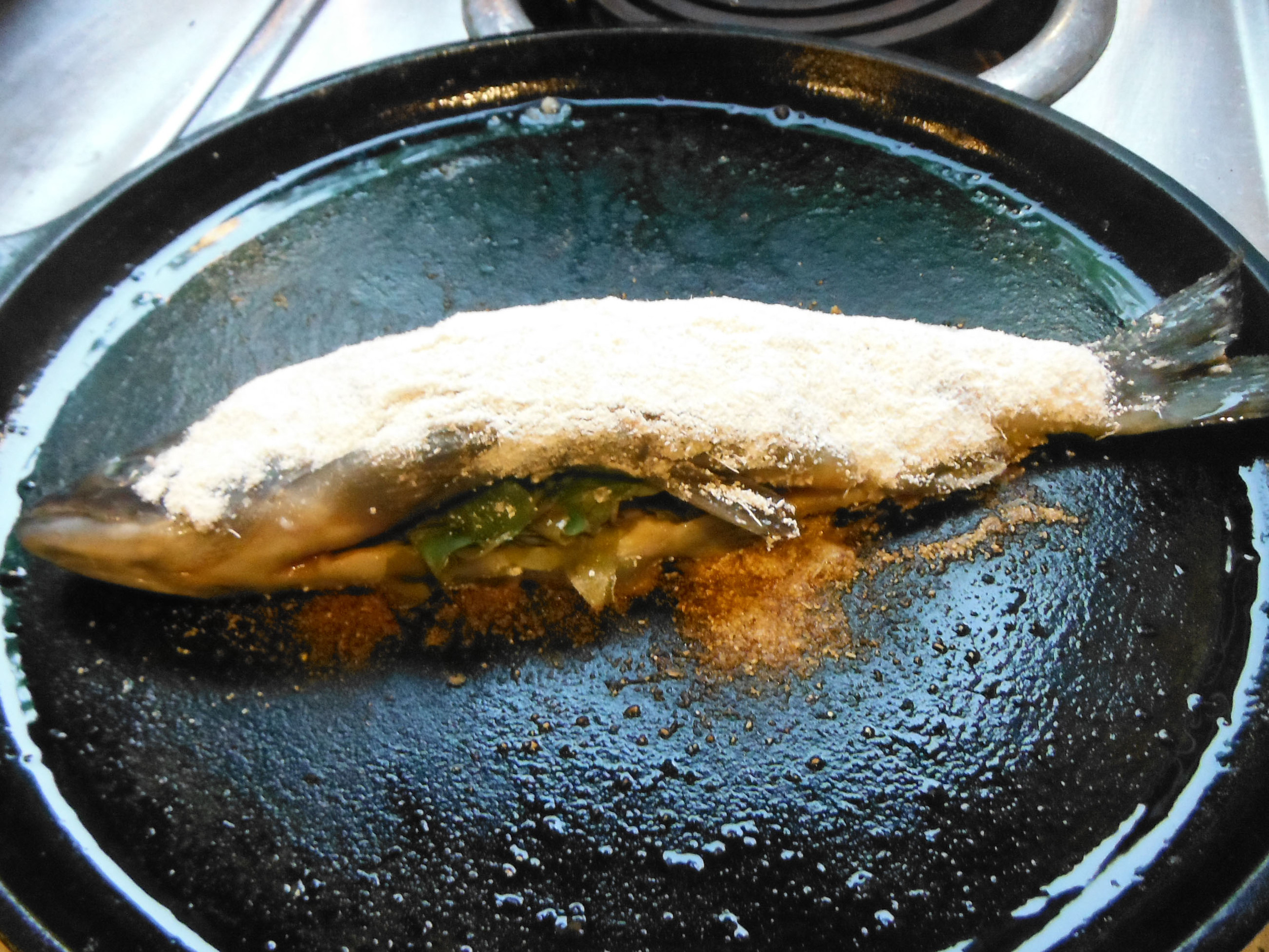 Cattail Battered Trout