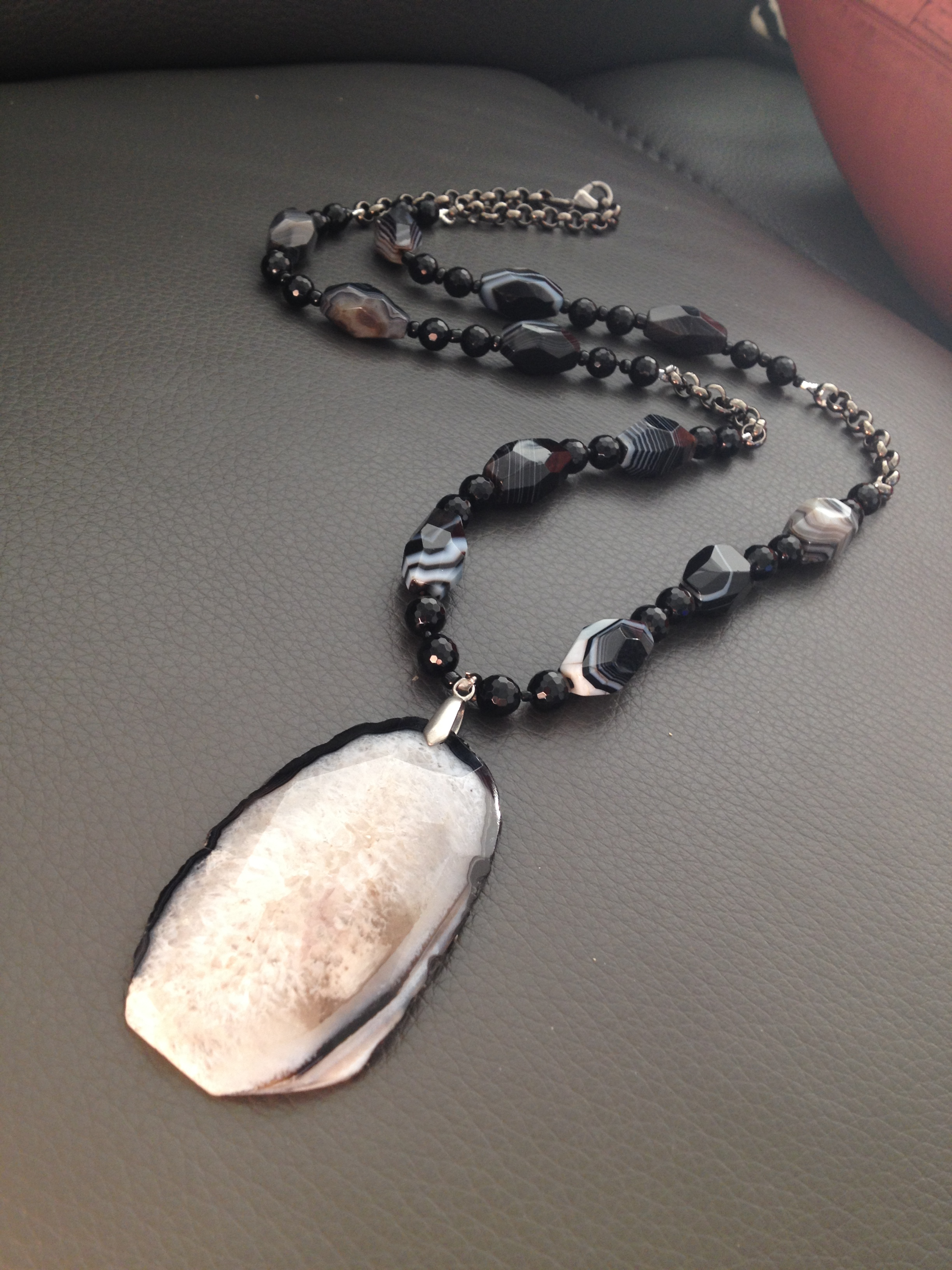 Phyllis Clark's Agate Necklace