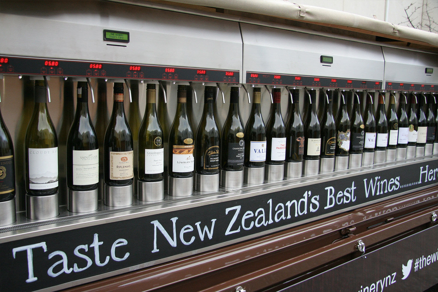 46 wines for tasting