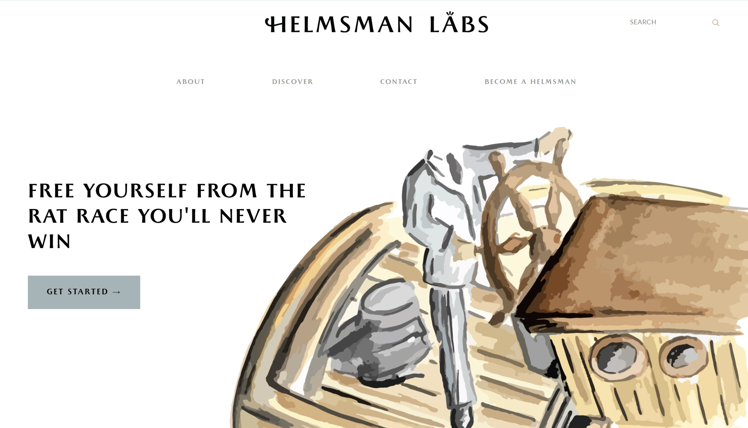 Client: Helmsman Labs  Service: Website Copy, Blog Posts, and Newsletters (Full Service Copy Creation!)   View Project