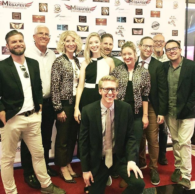 We had a great time with the @killerkatemovie team at the Action On International Film Fest last weekend! Happy to be greeted by such positive feedback on our film! . . . . . #killerkatemovie #killerkate #feldfilms #horrorcomedy #horrorfilm #horror #redcarpet #lasvegas #actiononfilmfestival #actiononfilm #moviescreening #filmfestival #horrorfestival #leopardprint #filmmakers #director #producers #artdeparment #wardrobedepartment #editor #composer #writers #actress