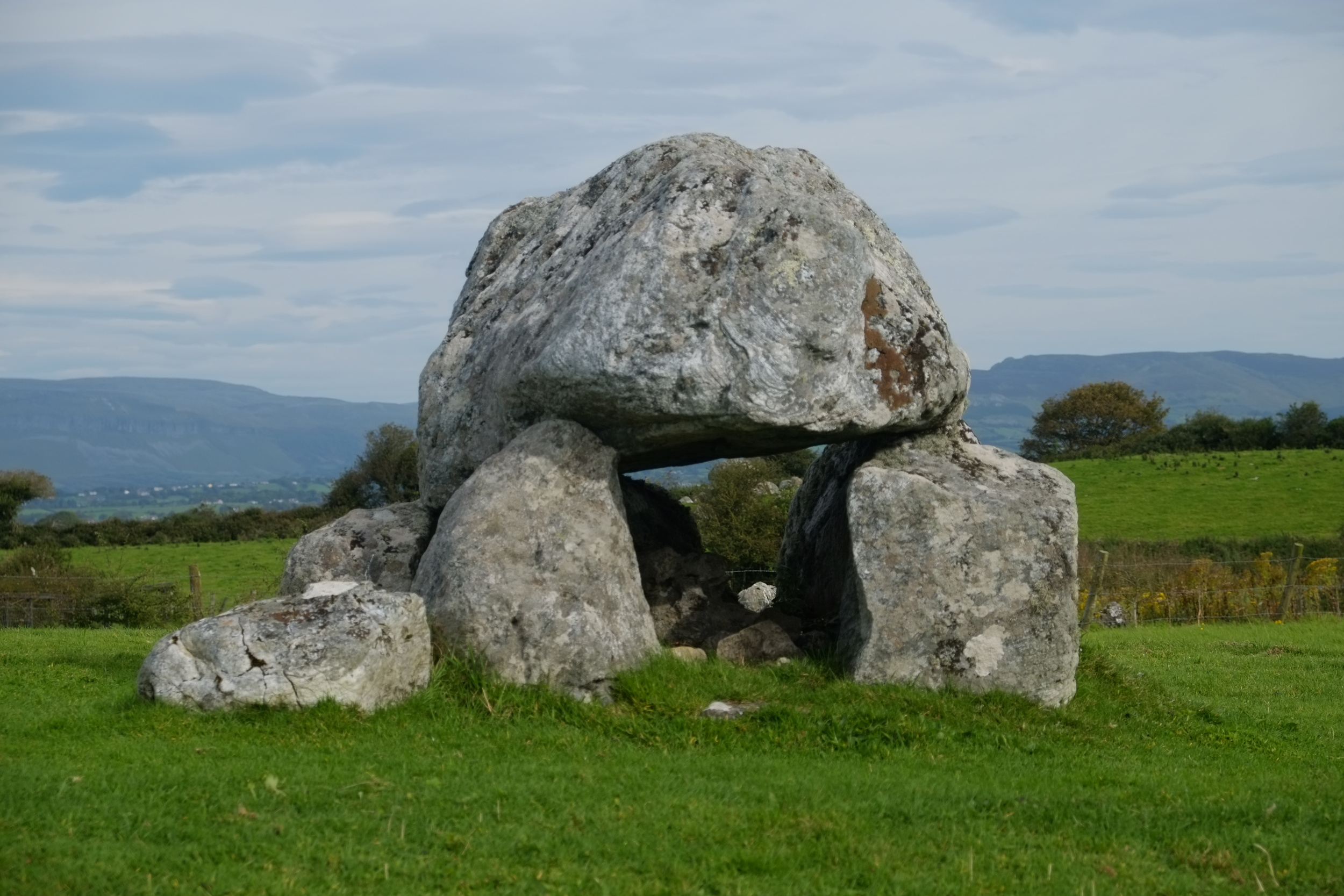 Megalithic tomb, Carrowmore, Strandhill, Sligo, Ireland