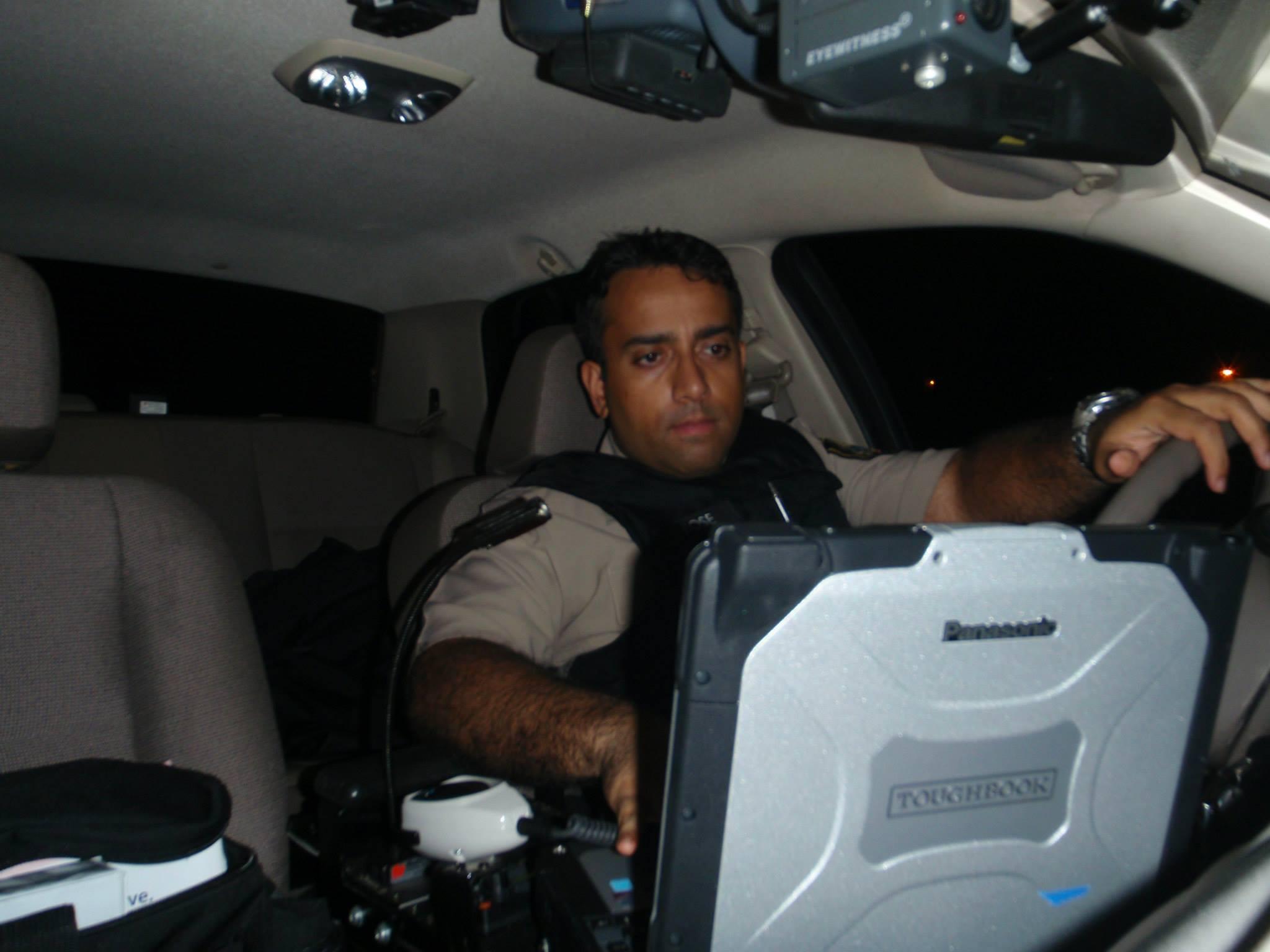 Officer Sudeep Bose
