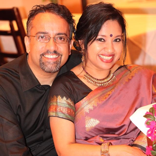 Attorney Bose with Dr. Soma Bose