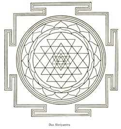 A Shri Yantra