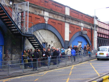 """A very cool """"pop up"""" art show and theatre experience, Tunnel 228 seemed to have come out of nowhere. From a mysterious website which posed as a legit rail cleaning business, people could get free tickets to the event via a hidden link."""