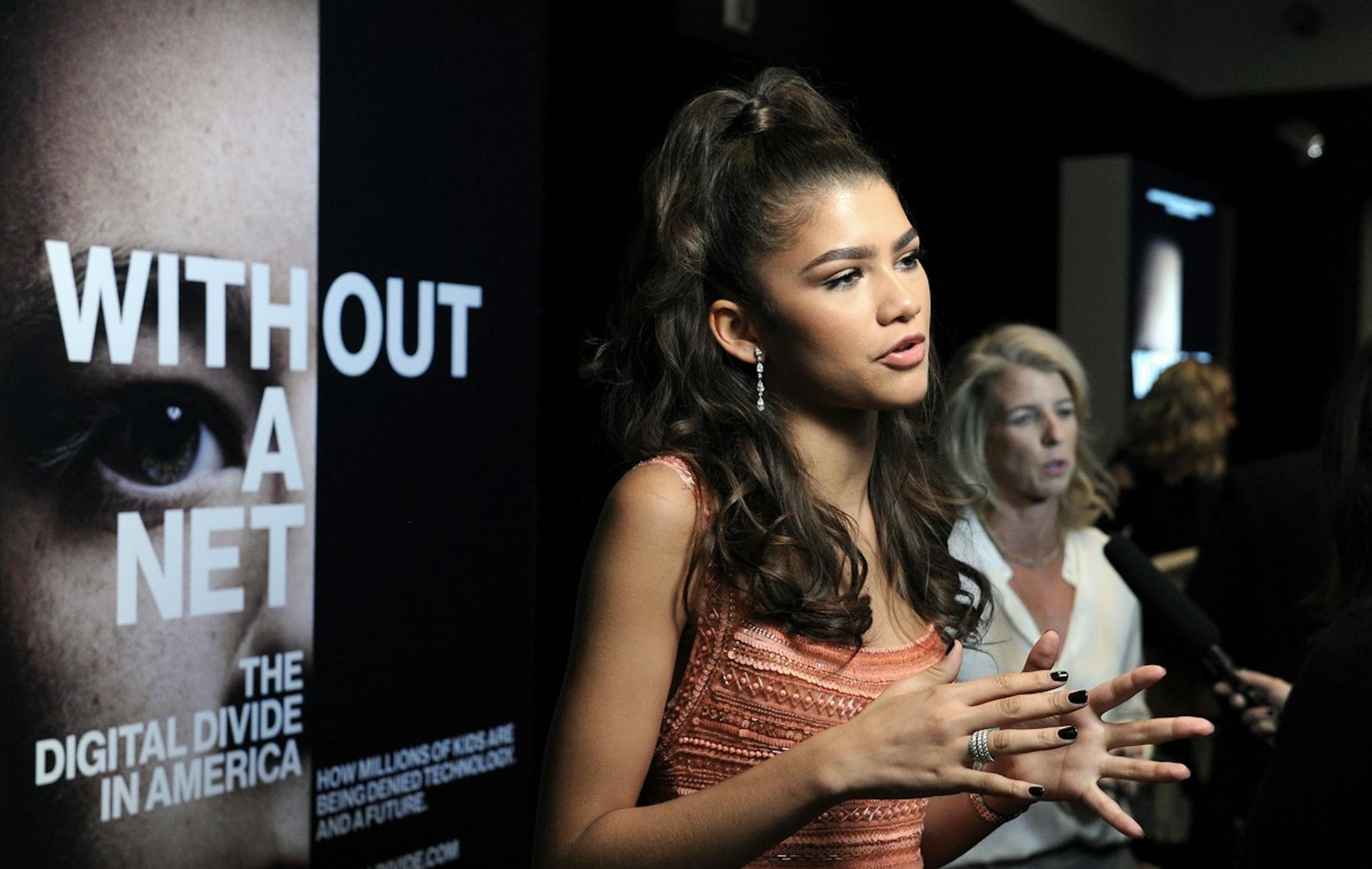 Zendaya at New York Film Festival