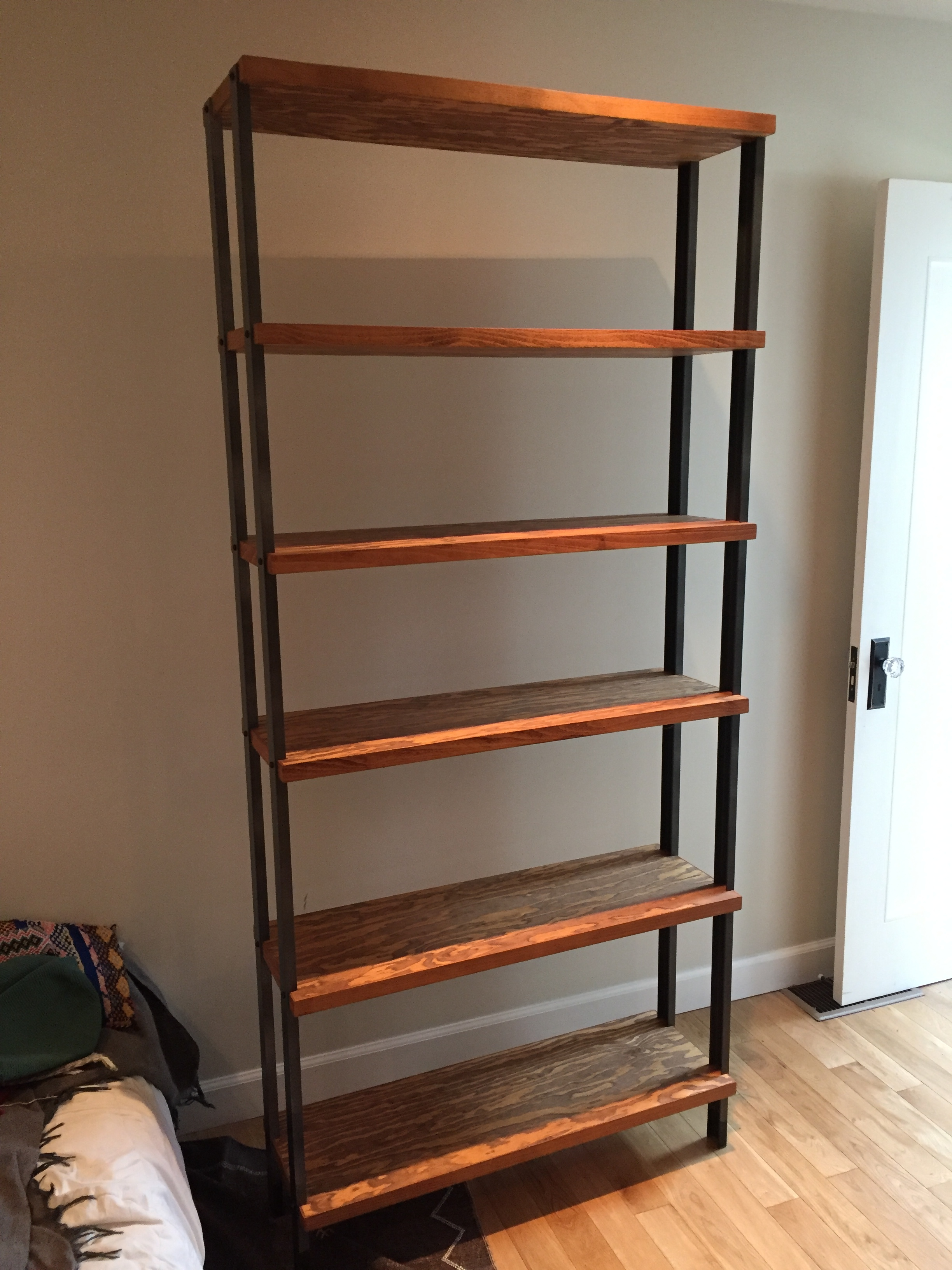 ACX and Aluminum Modular Bookcase
