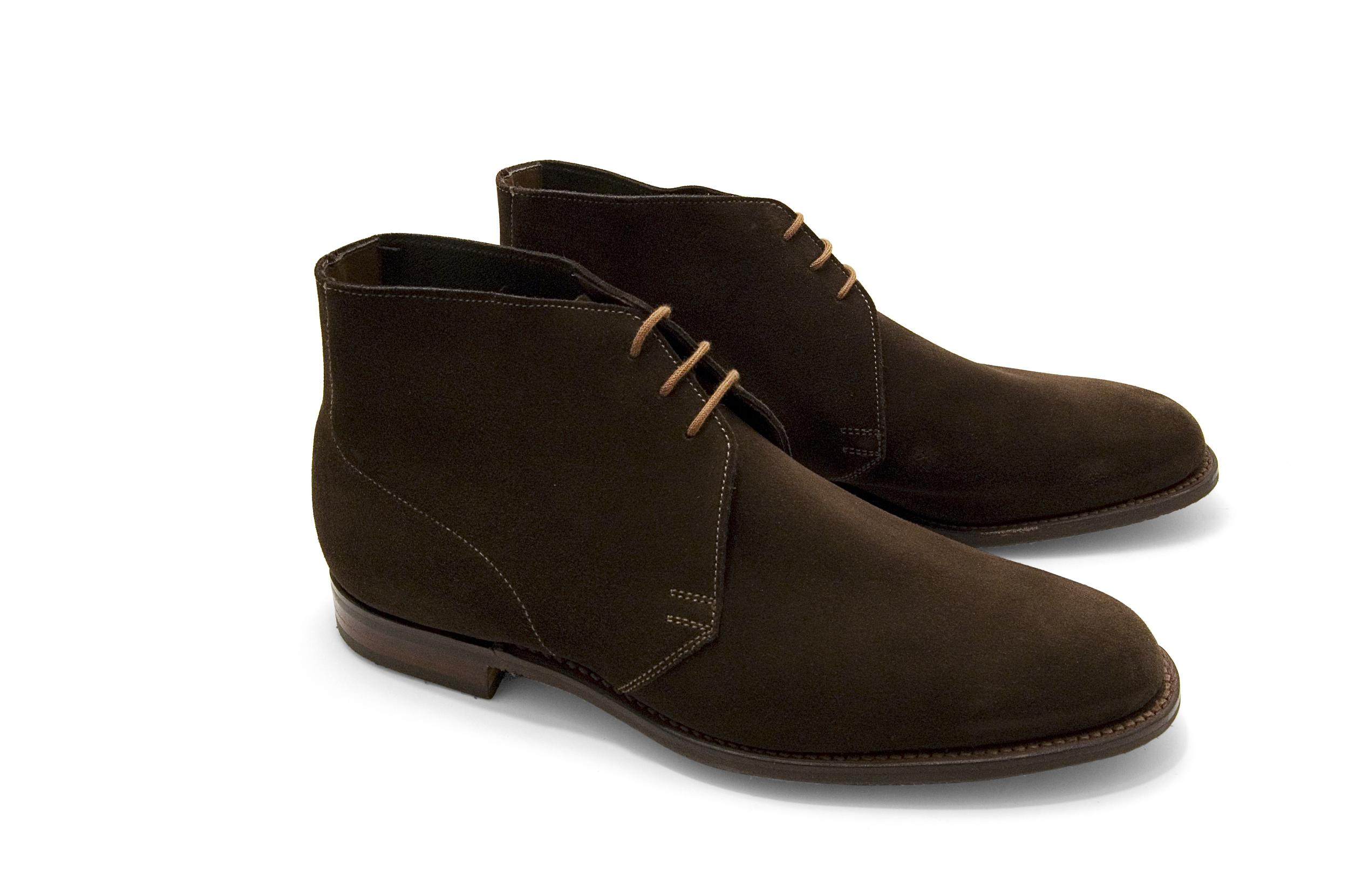 Crockett \u0026 Jones Chukka Boot – Dark