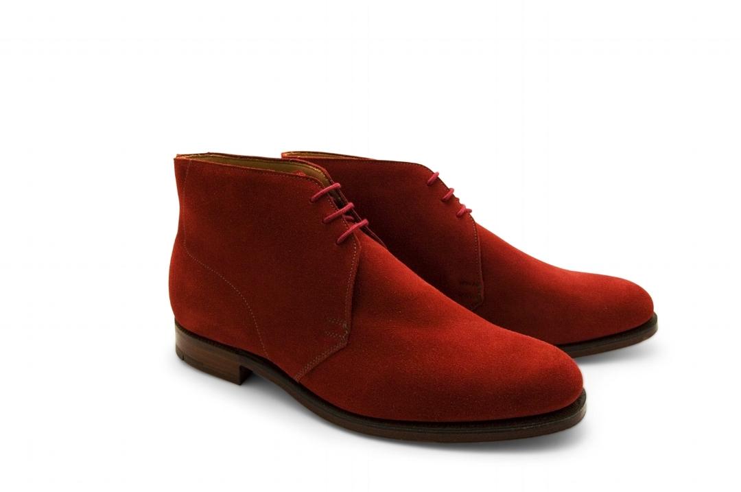 Crockett \u0026 Jones Chukka Boot – Red