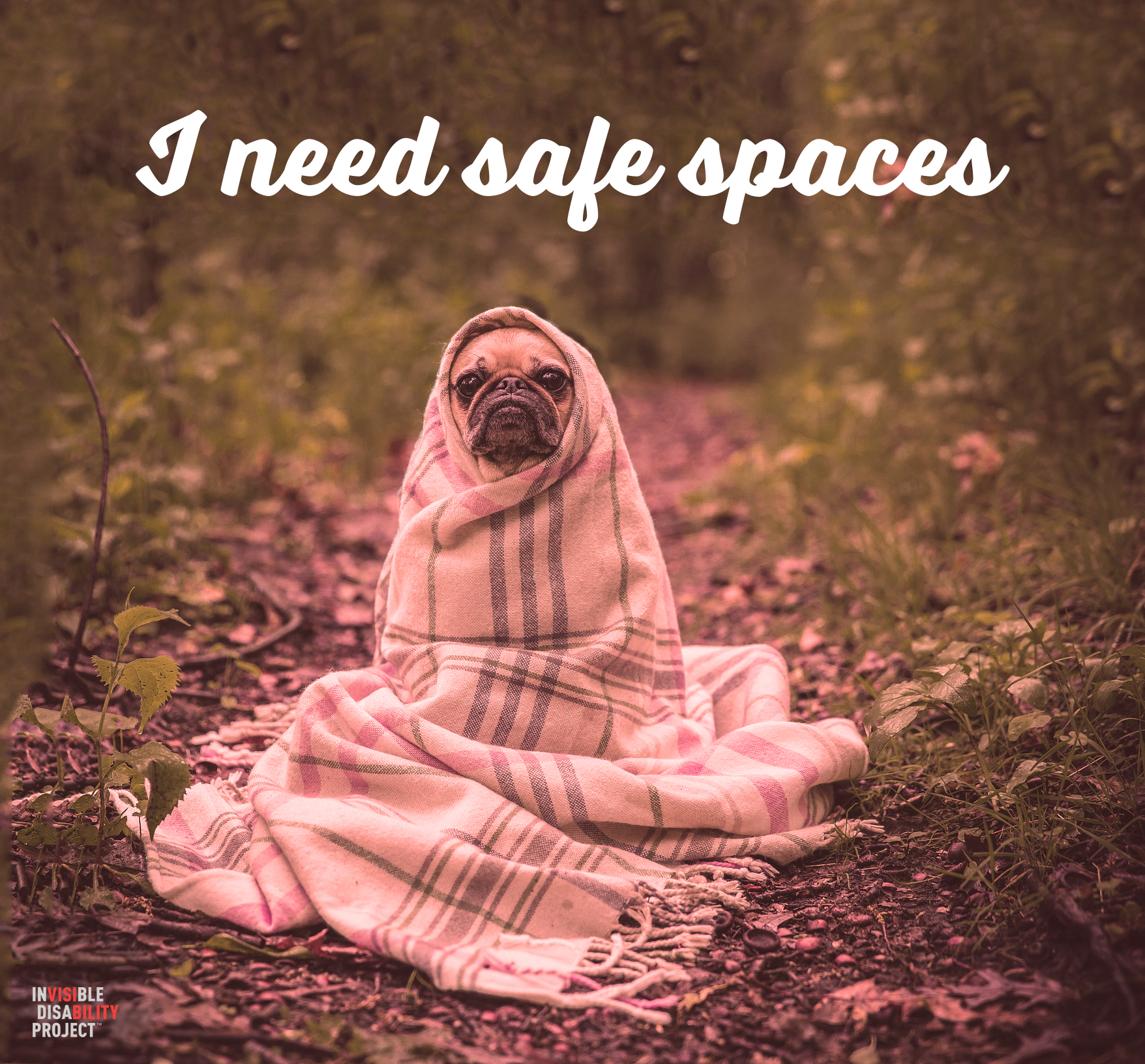 I need safe spaces.