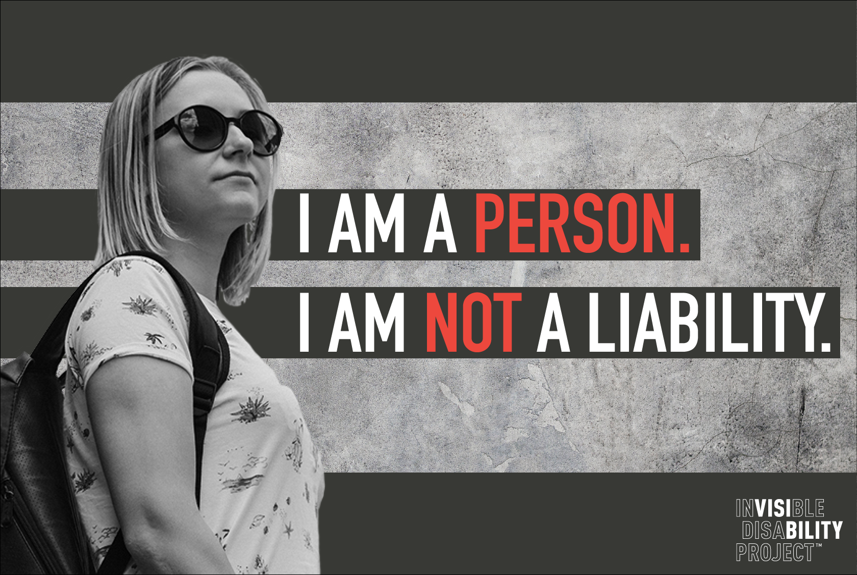 I am a person. I am not a liability.