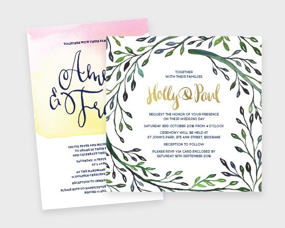 Wedding + Event Stationery