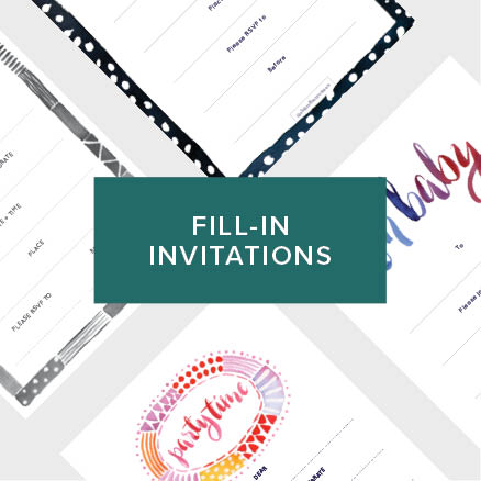 FILL IN INVITATIONS