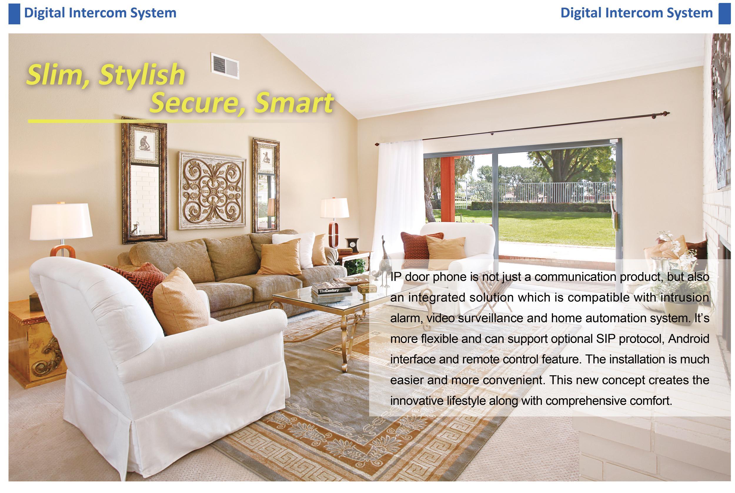 SmartZone Digital Advance SIP Video intercom