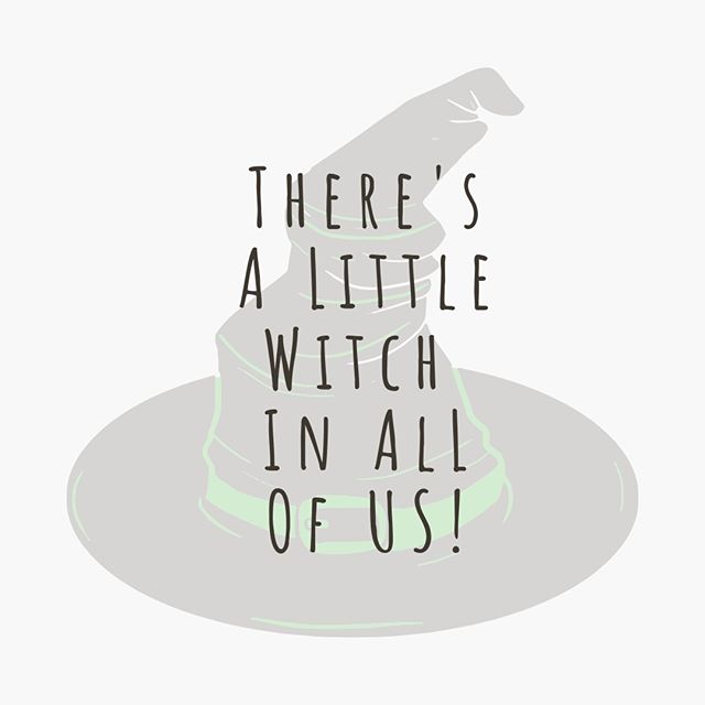 Wear your hat with pride ladies and gentleman! What brings out the witch in you? Do you relate more with the good witch or the bad?