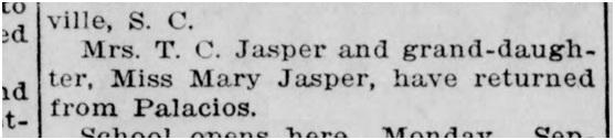 The Courier Gazette Saturday 5th September 1914. USA.