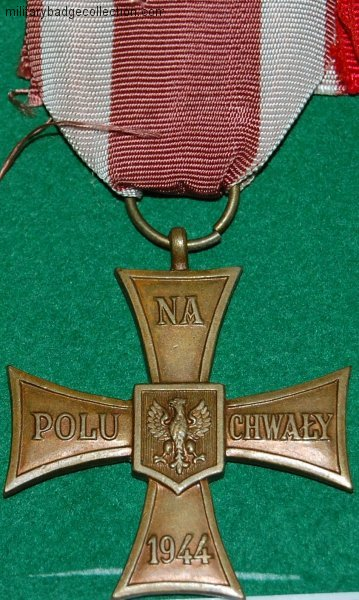 http://militarybadgecollection.com/2010/12/14/polish-ww2-medals.htm