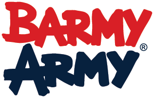 we're proud to be associated with the Barmy Army, England's Original Supporters Club.