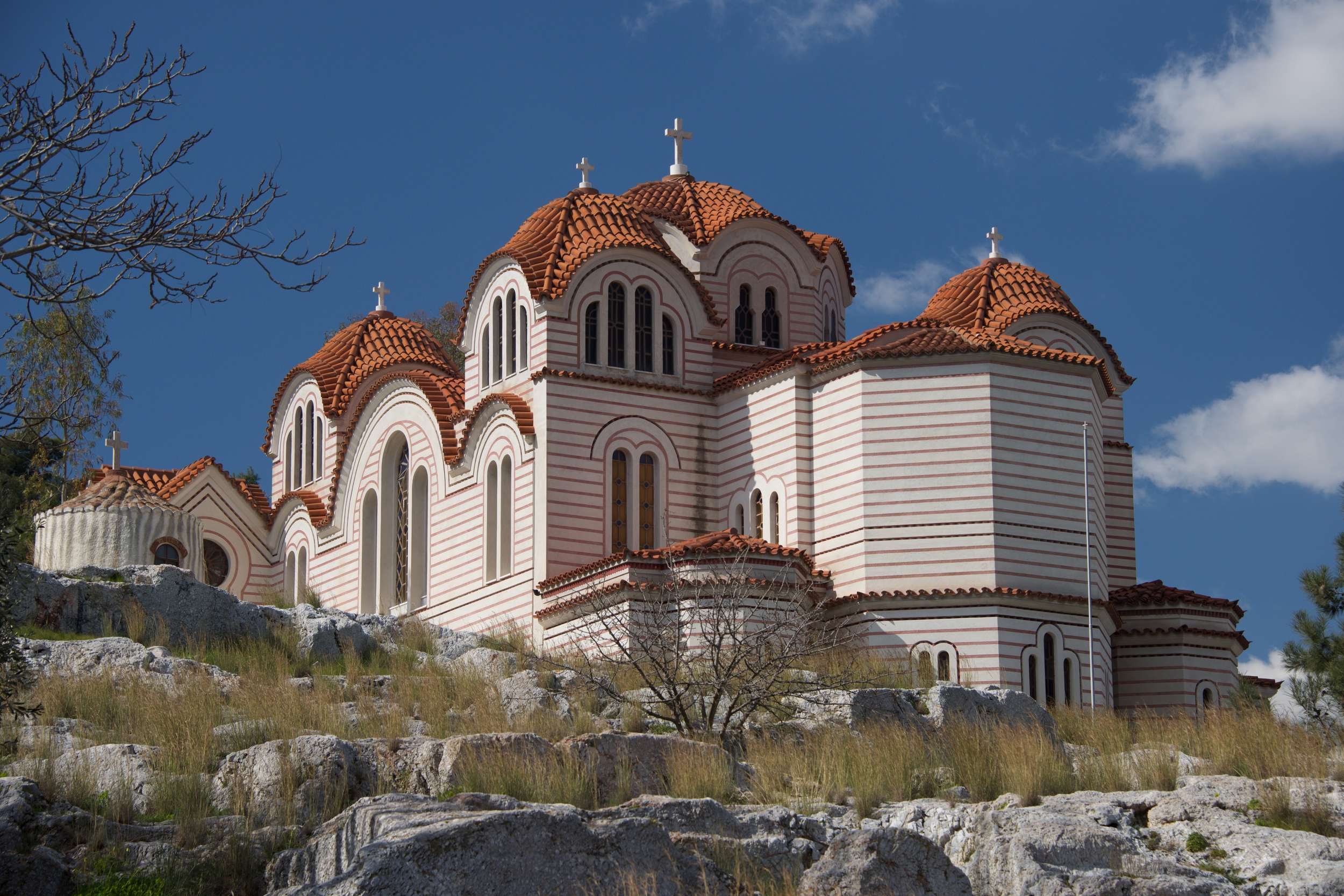 Church of Agia Marina on rocky hillside.jpg
