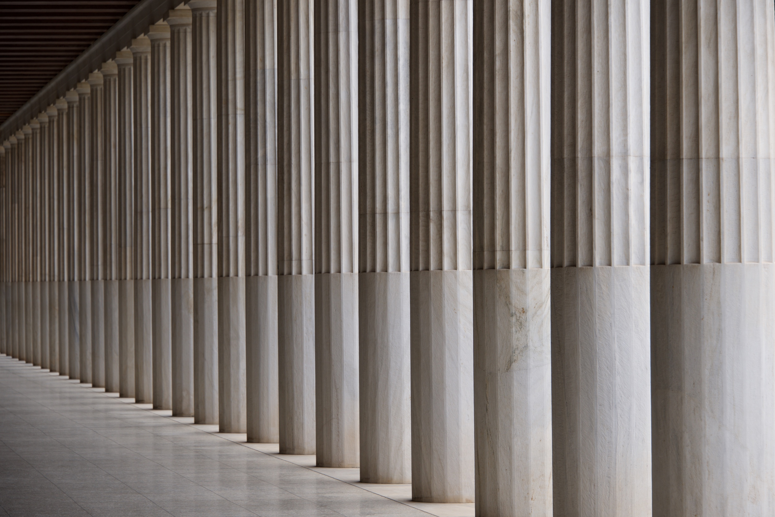 Stoa of Attalos marble ceiling and colonnade.jpg