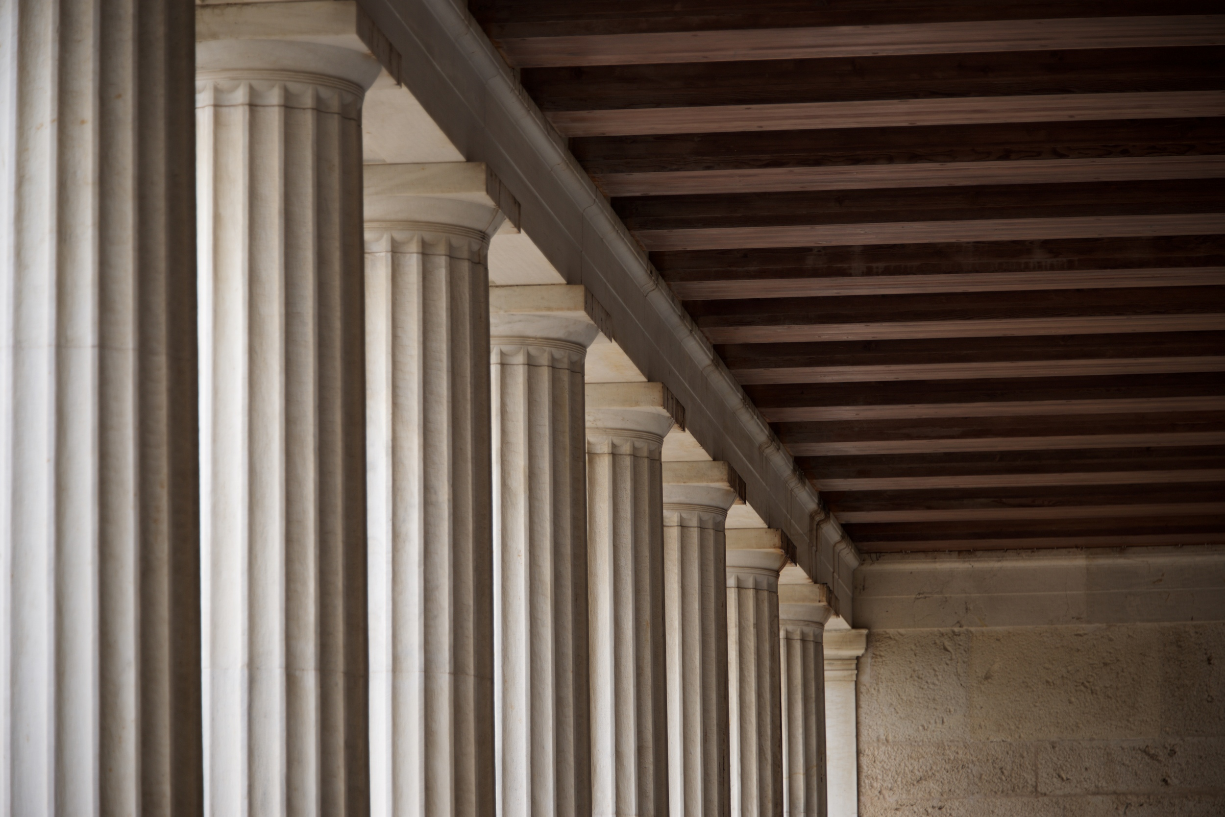Ceiling corner in Stoa of Atallos colonnade.jpg