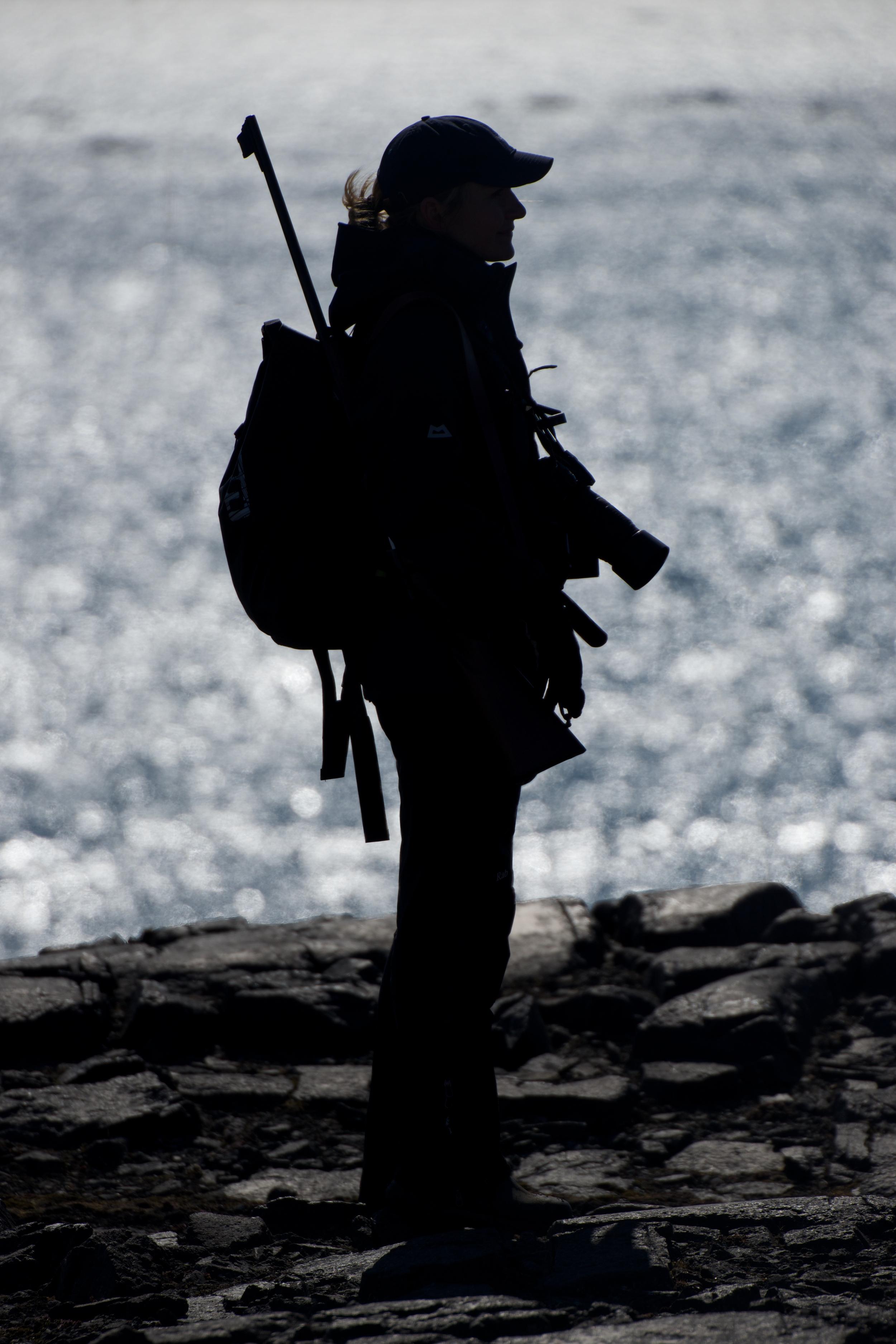 A blonde Norwegian 'adventure concierge'