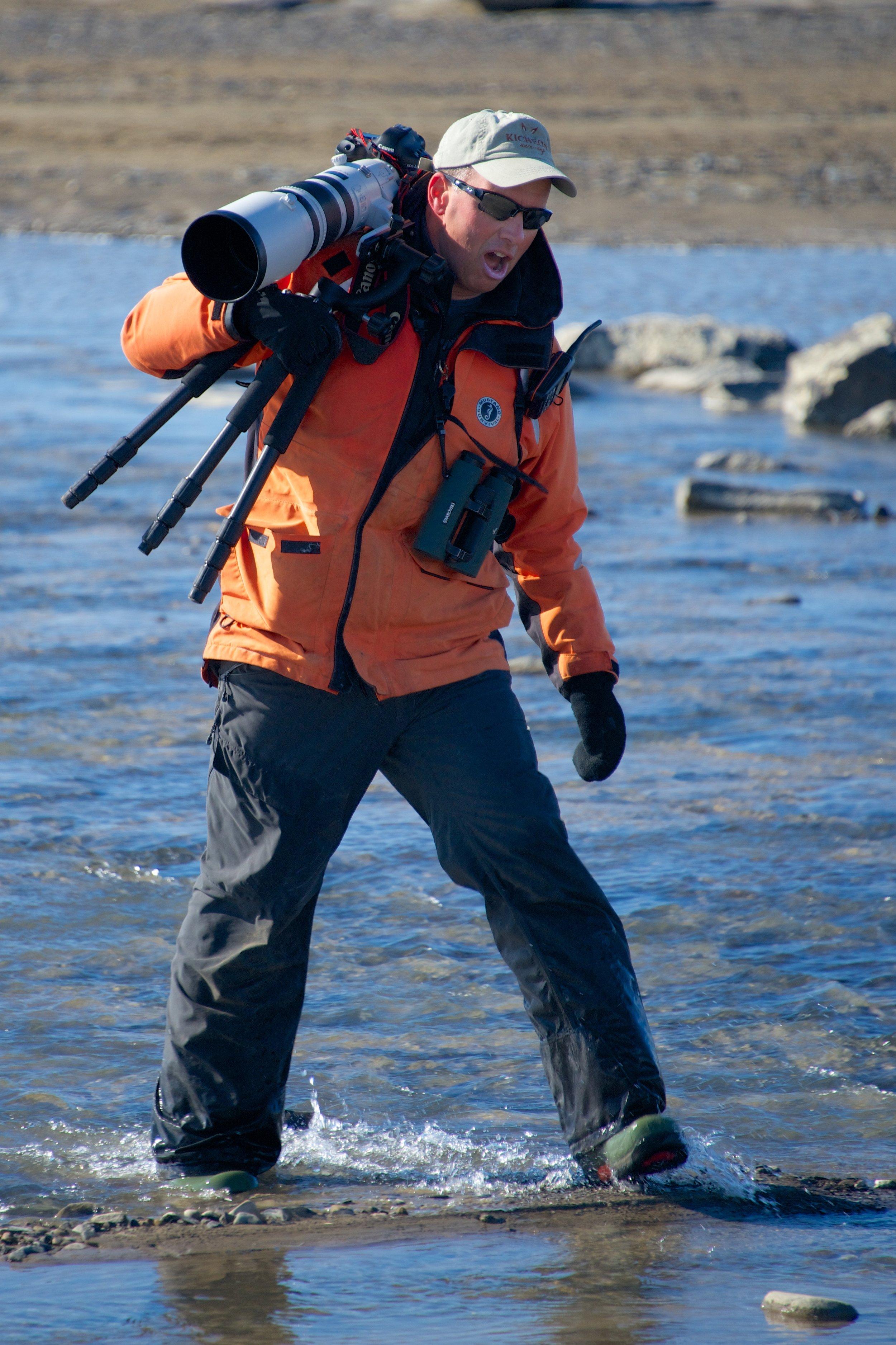 Paul in Spitsbergen