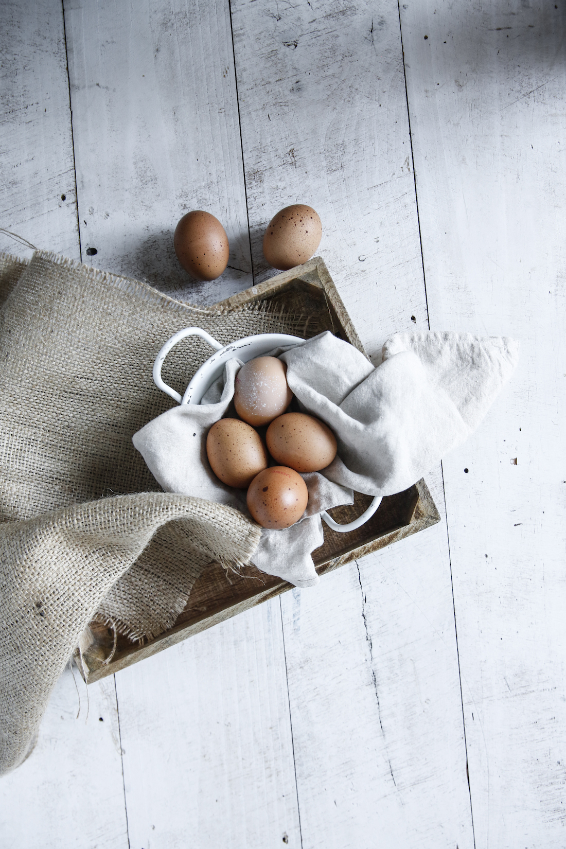 Eggs! FULL of protein! Boiled eggs are an incredible snack. Yummy, filling & super healthy!