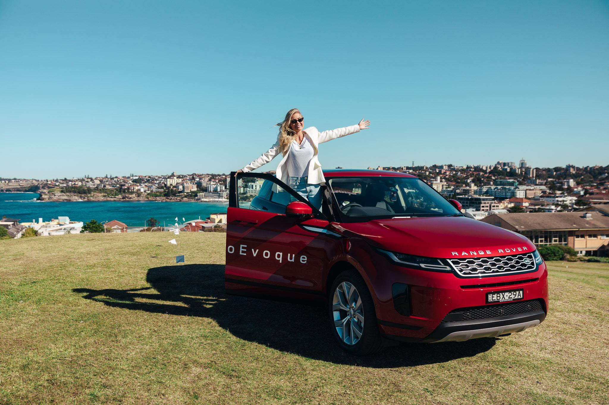 Elyse Knowles Range Rover Evquoe