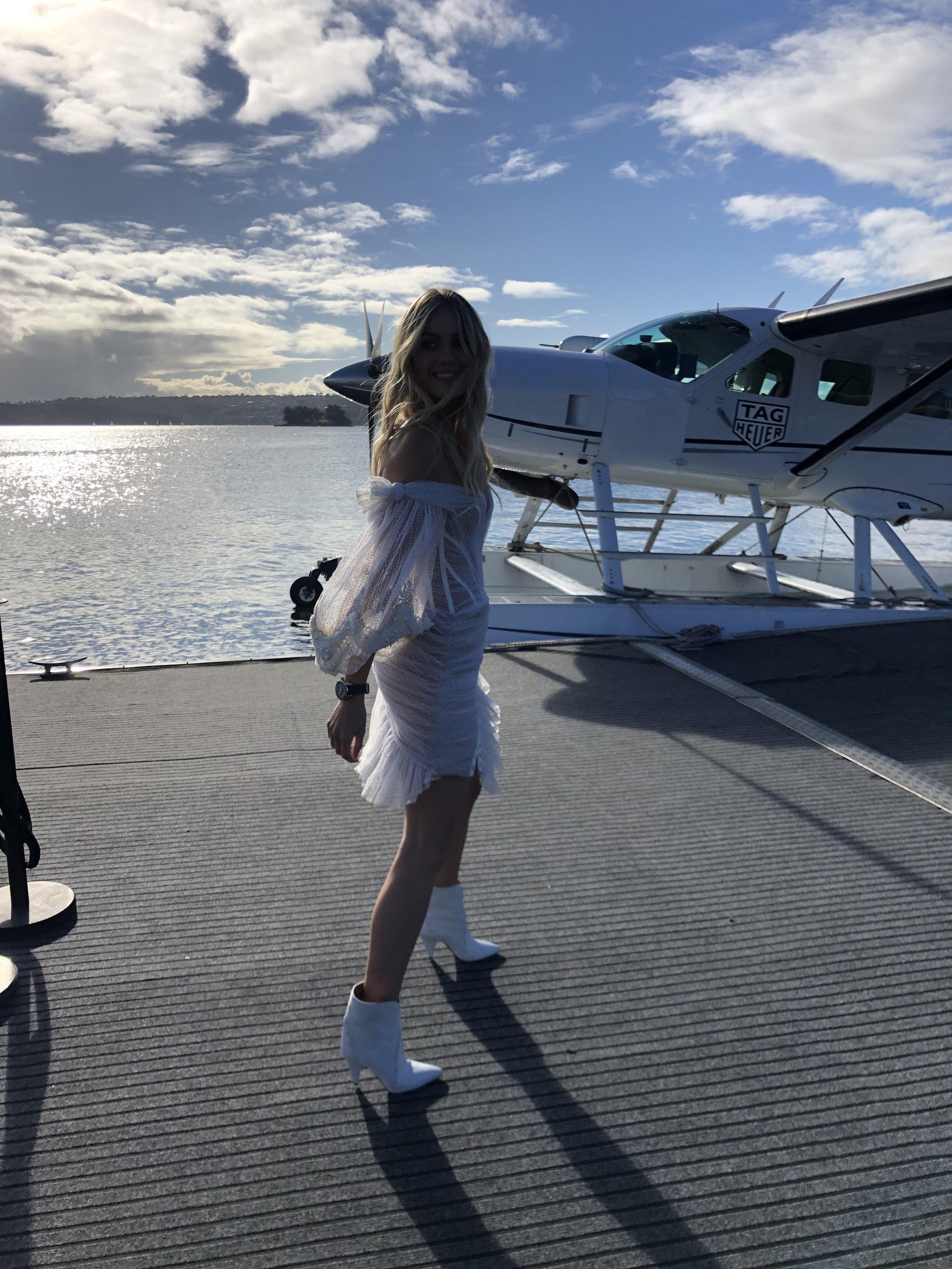 Elyse Knowles & Chris Hemsworth - Tag Heuer 2019 8.jpg