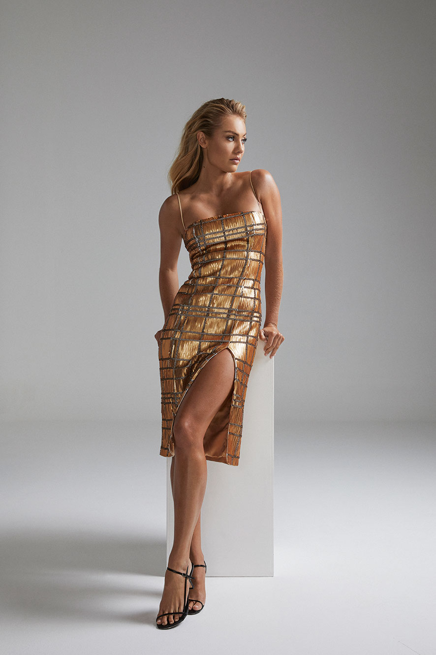 Dress by   Misha Collection   at Myer