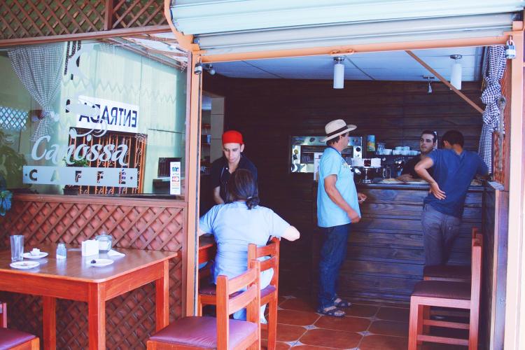 A cafe in Cartago, Costa Rica