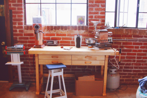 Middle State's work bench