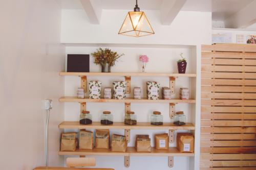 Amethyst's retail shelves