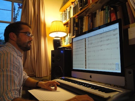 Orchestrating and preparing performer's parts for Sorcery! 2