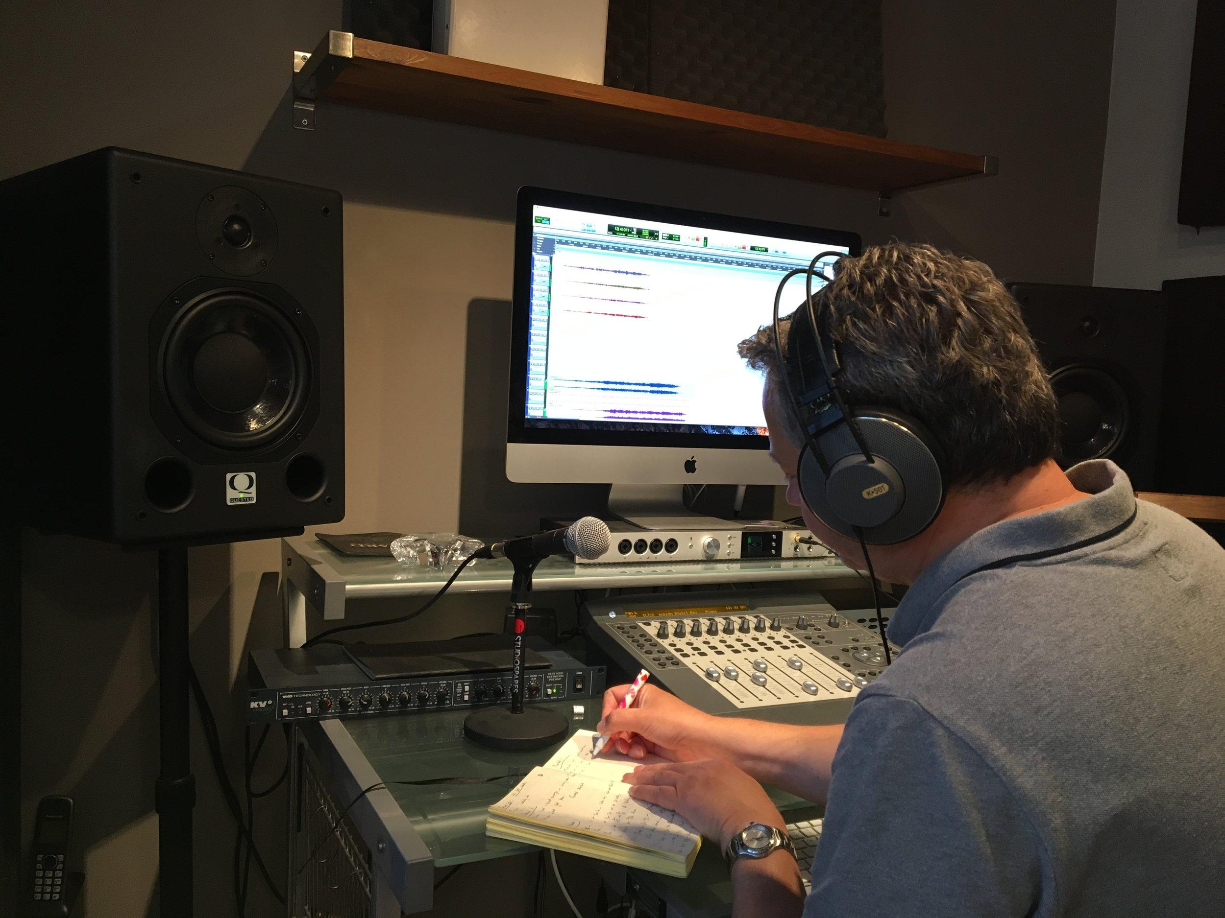 Richard Brooker: Recording Engineer and Pro Tools Guru.