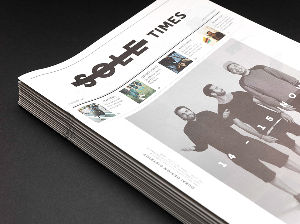 Sole Times Cover and Masthead