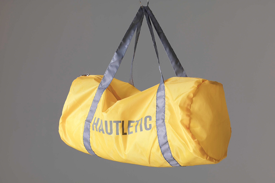 Hautletic #yellowdufflebag
