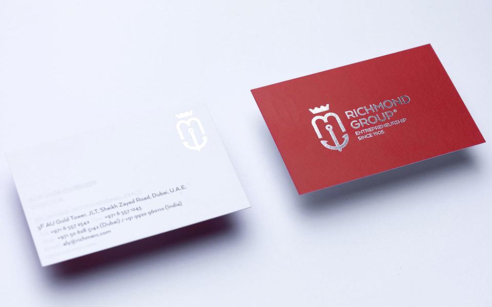 Richmond Business Card