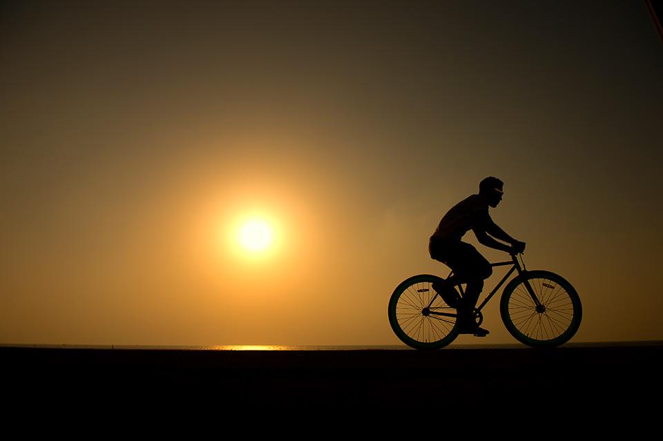 PUMA Fishtail Rides Brand Imagery Sunset