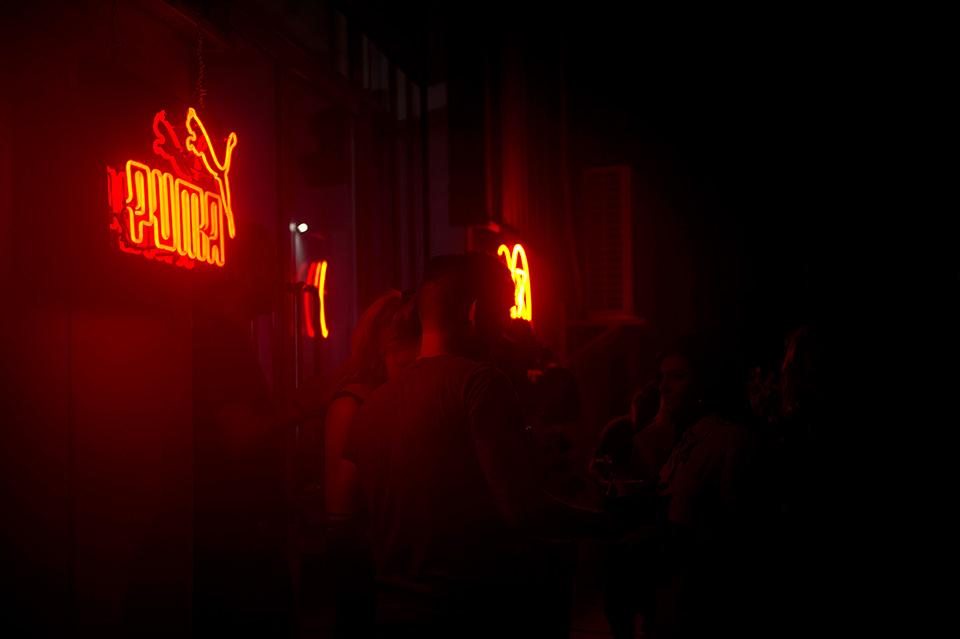 PUMA Fishtail Rides Brand Neon Signs