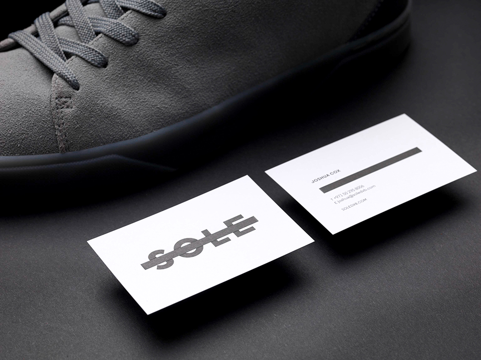 Sole Brand Business Cards