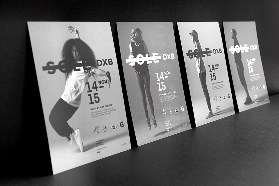 Sole DXB 2014 Event Flyer
