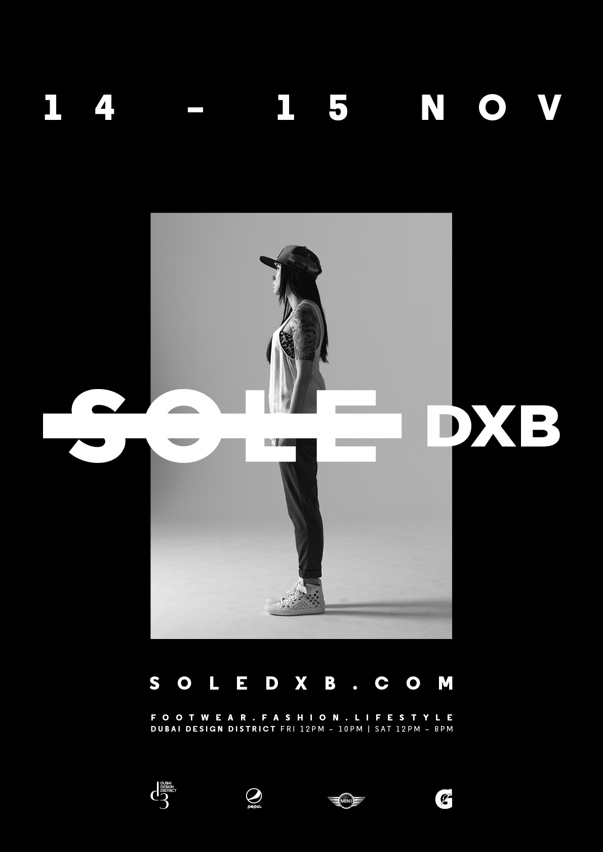 Sole DXB 2014 Event Poster Woman