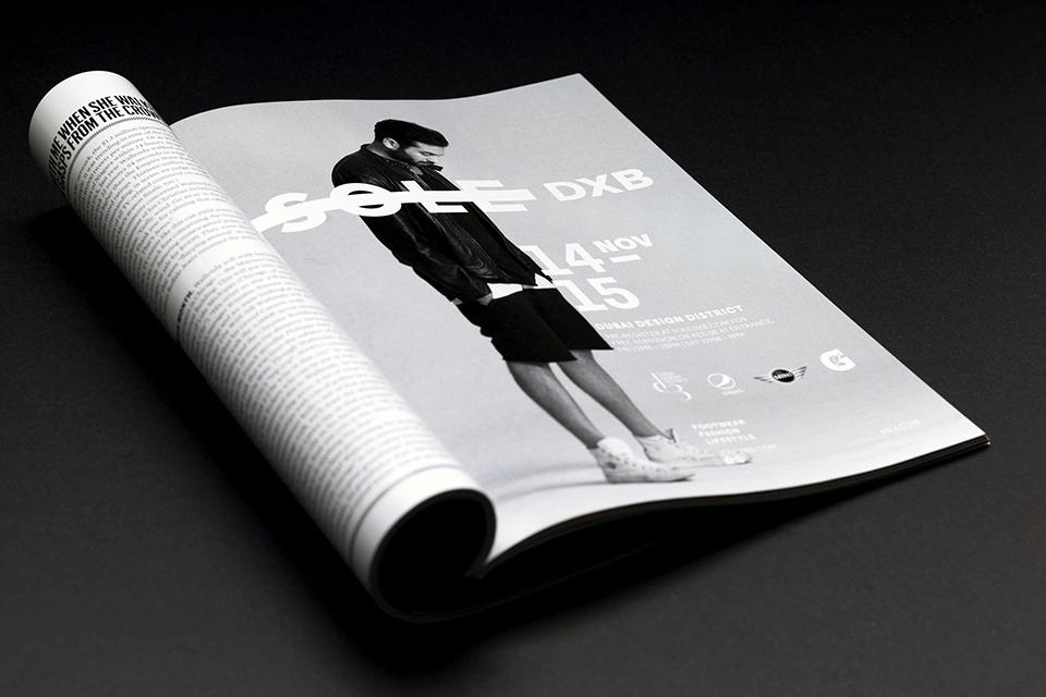 Sole DXB 2014 Event Advert