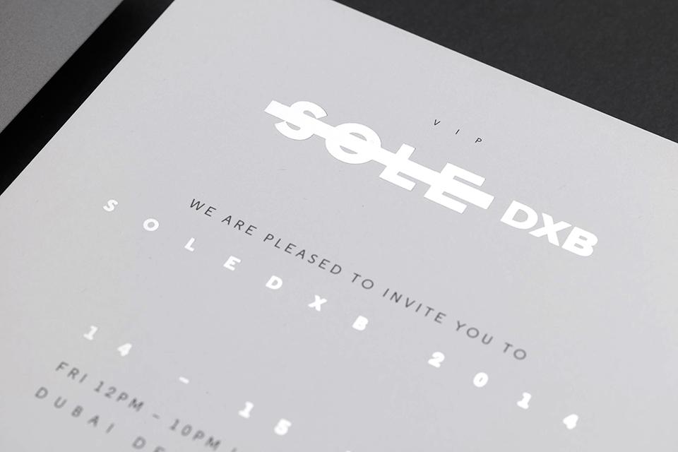Sole DXB 2014 Event VIP Invite